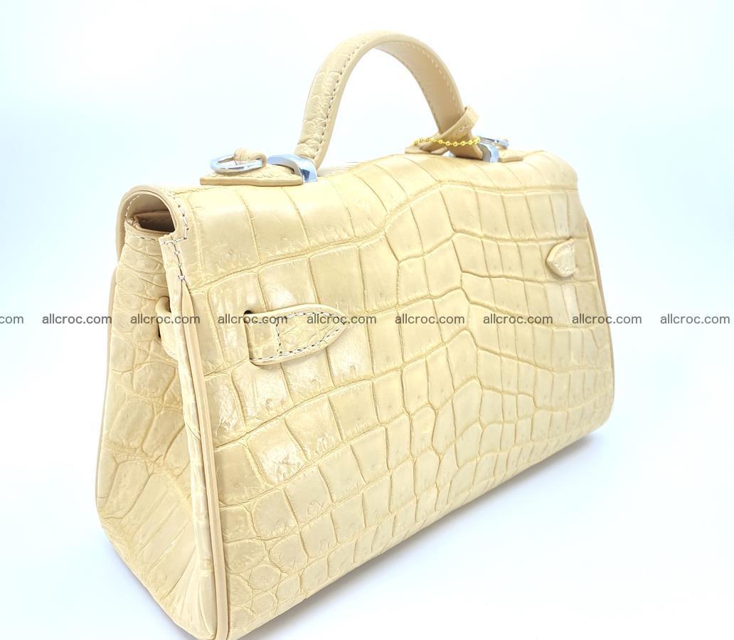 Crocodile skin women's handbag 1451 Foto 4