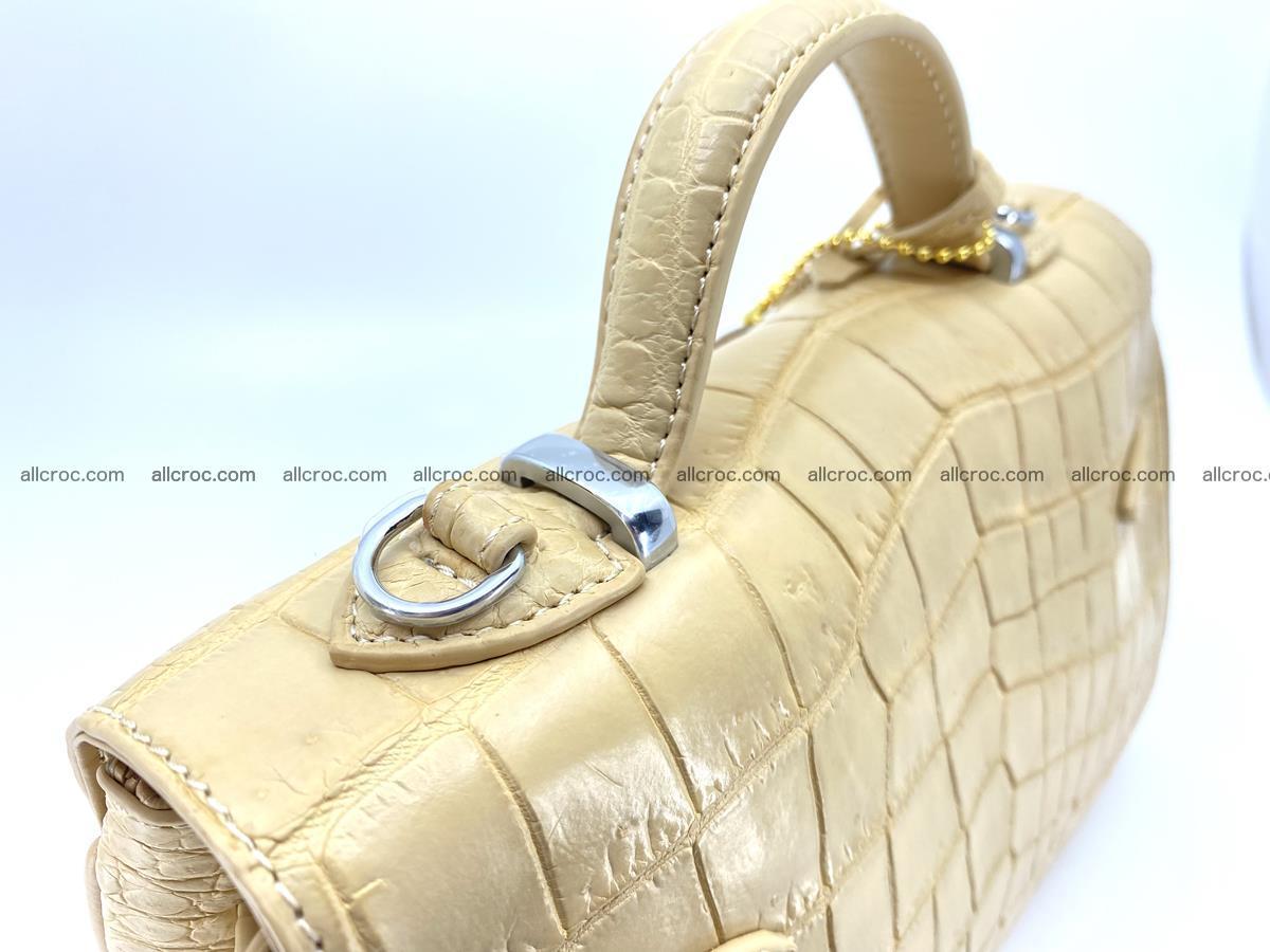 Crocodile skin women's handbag 1451 Foto 5