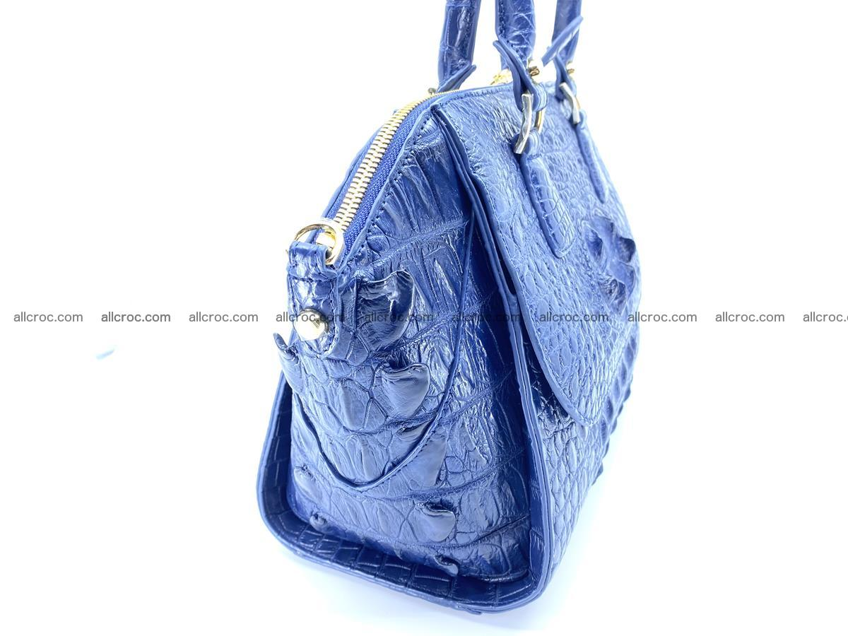 Crocodile skin women's handbag 1449 Foto 2