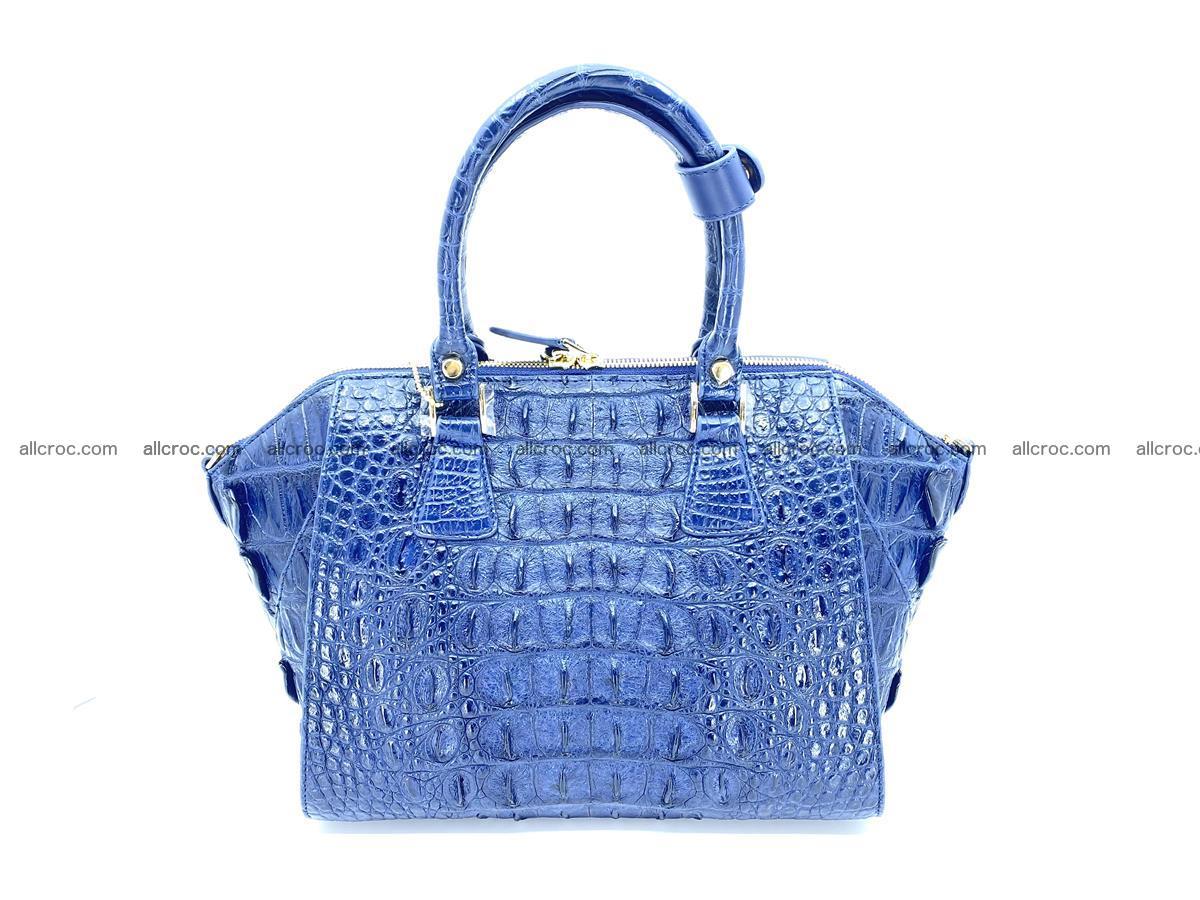 Crocodile skin women's handbag 1449 Foto 3