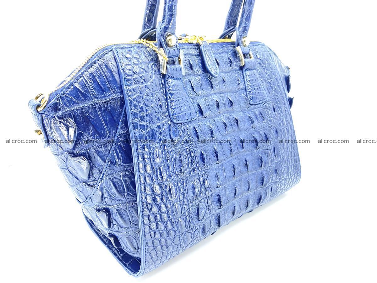 Crocodile skin women's handbag 1449 Foto 5