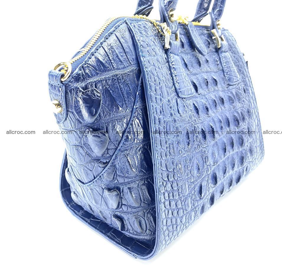 Crocodile skin women's handbag 1449 Foto 6