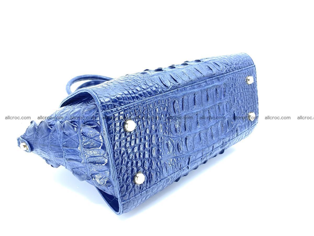Crocodile skin women's handbag 1449 Foto 7