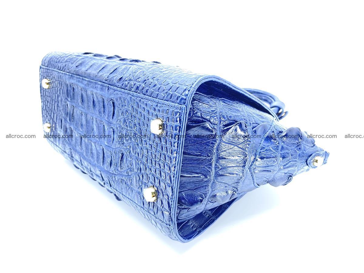 Crocodile skin women's handbag 1449 Foto 8