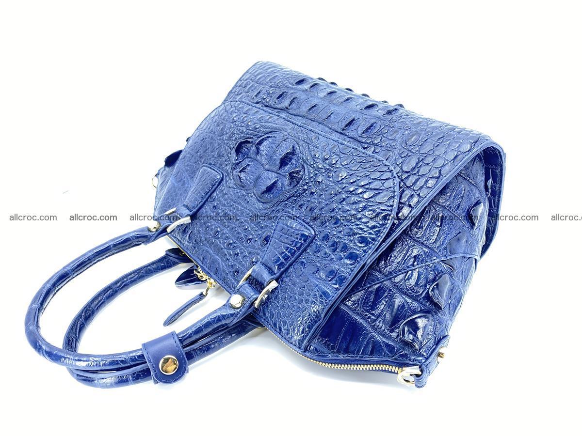 Crocodile skin women's handbag 1449 Foto 9
