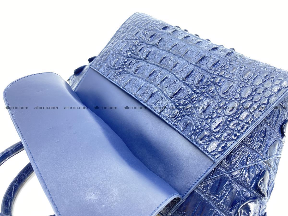 Crocodile skin women's handbag 1449 Foto 10