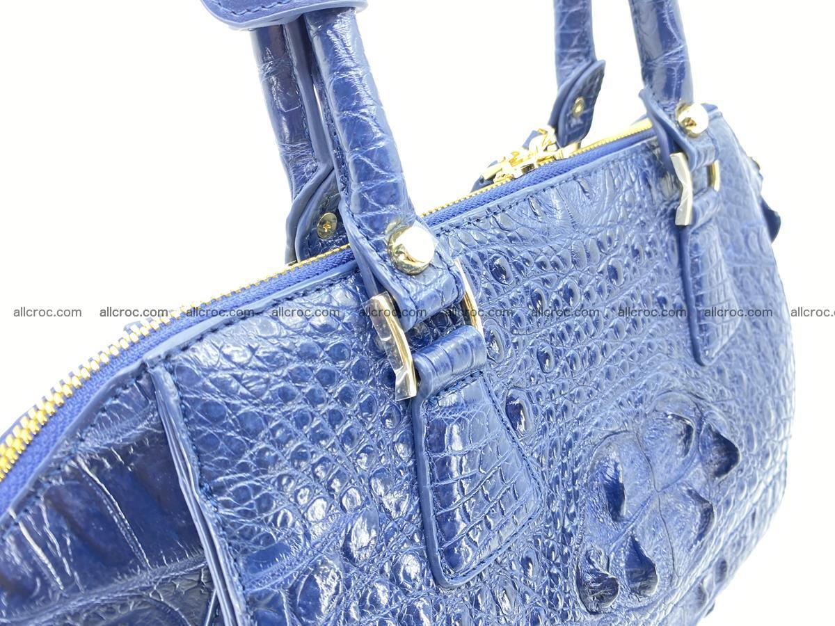 Crocodile skin women's handbag 1449 Foto 11