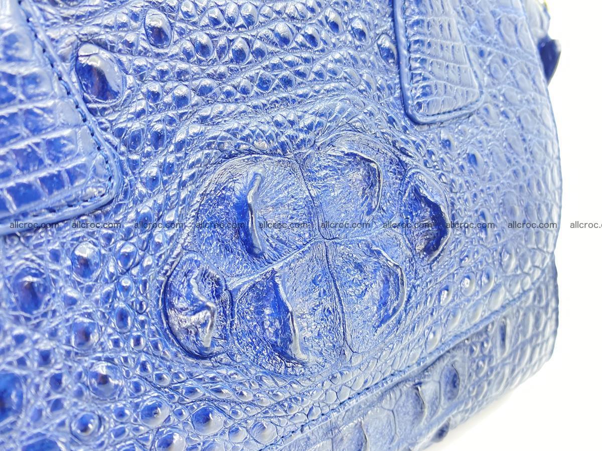 Crocodile skin women's handbag 1449 Foto 12