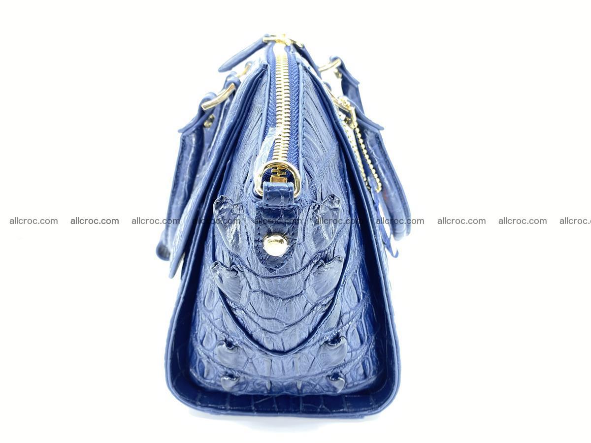 Crocodile skin women's handbag 1449 Foto 14