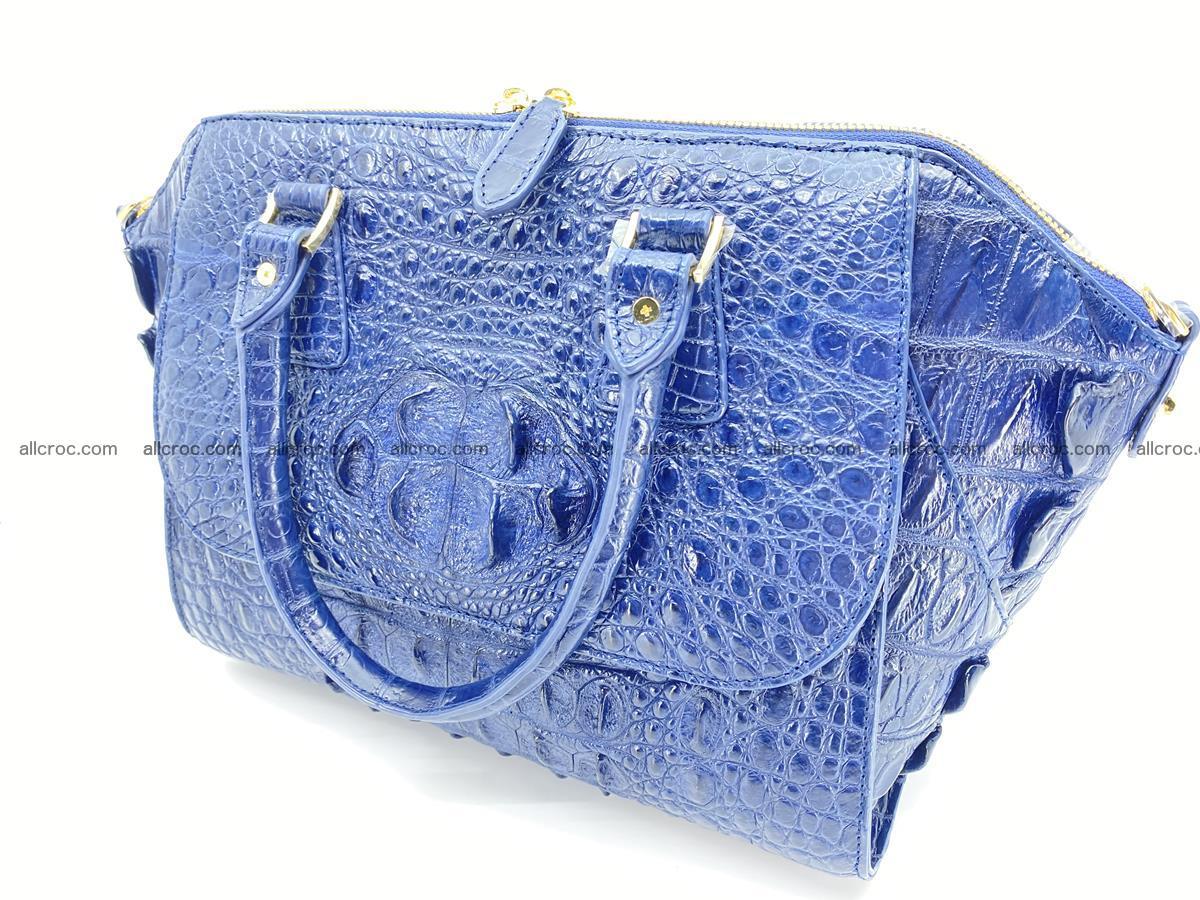 Crocodile skin women's handbag 1449 Foto 15