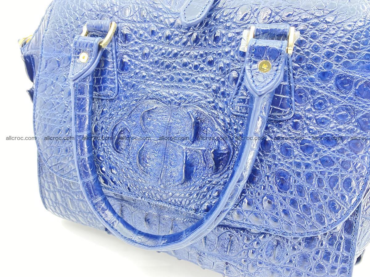 Crocodile skin women's handbag 1449 Foto 16