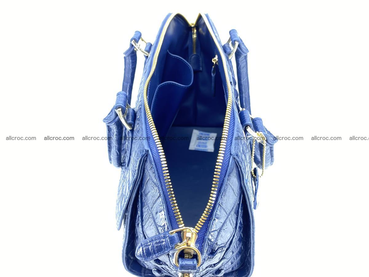 Crocodile skin women's handbag 1449 Foto 17
