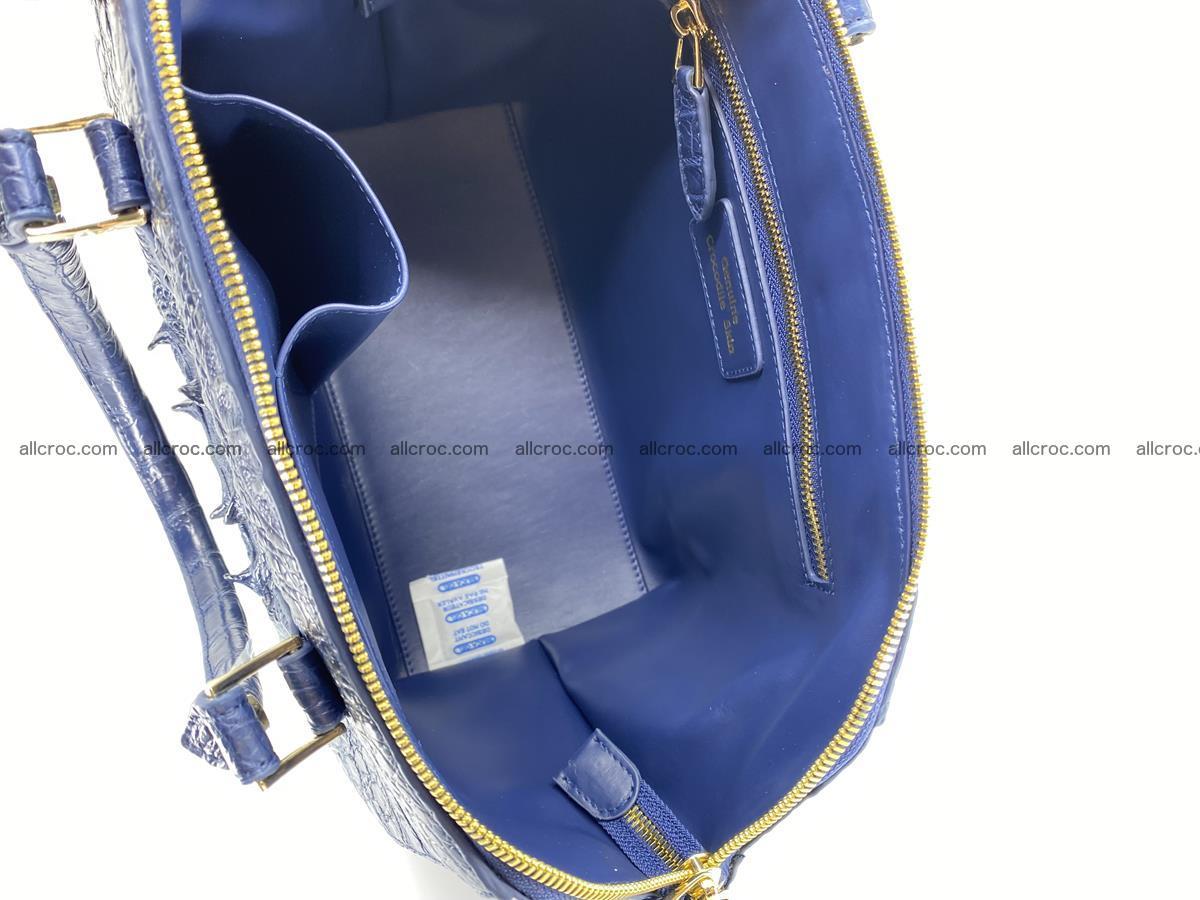 Crocodile skin women's handbag 1449 Foto 19