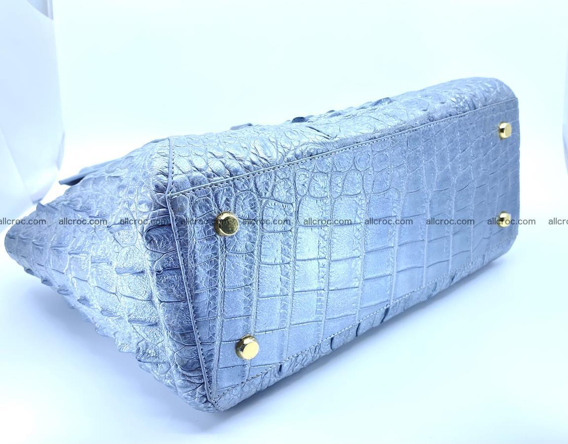 Crocodile skin women's handbag 1446 Foto 6