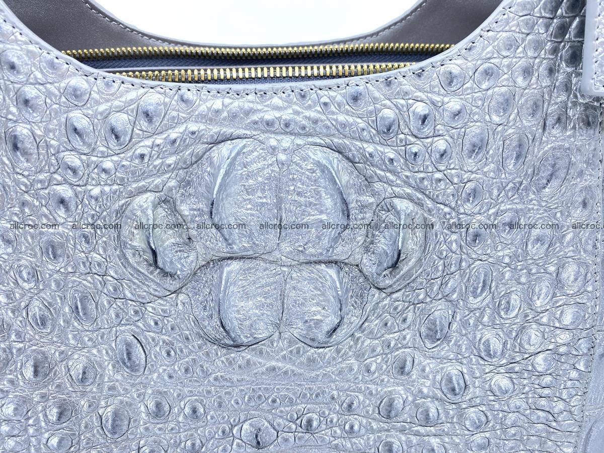 Crocodile skin women's handbag 1446 Foto 7