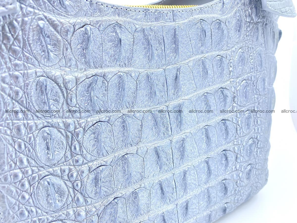 Crocodile skin women's handbag 1446 Foto 8