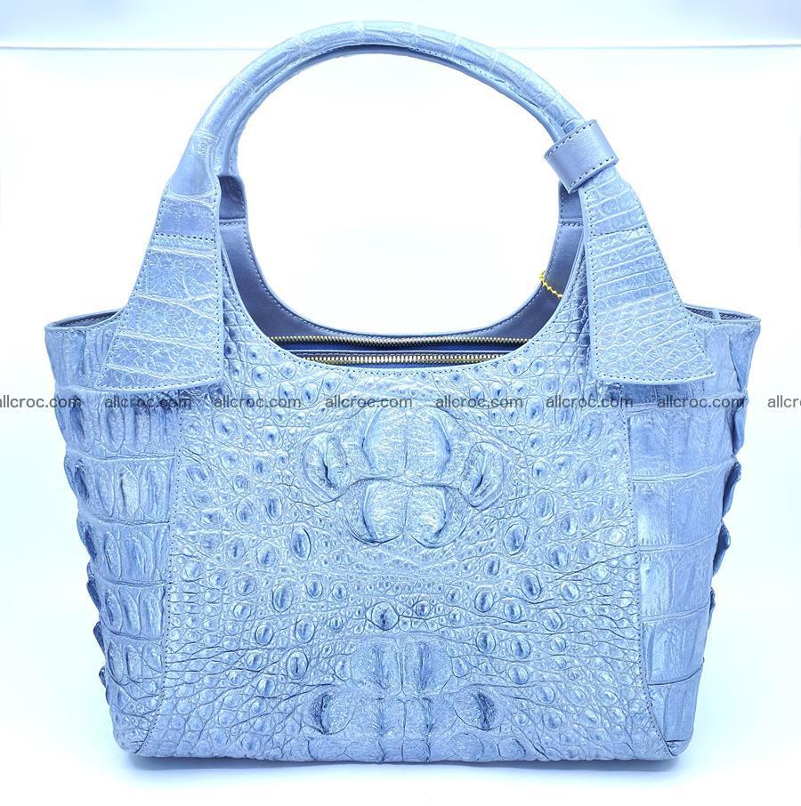 Crocodile skin women's handbag 1446 Foto 0