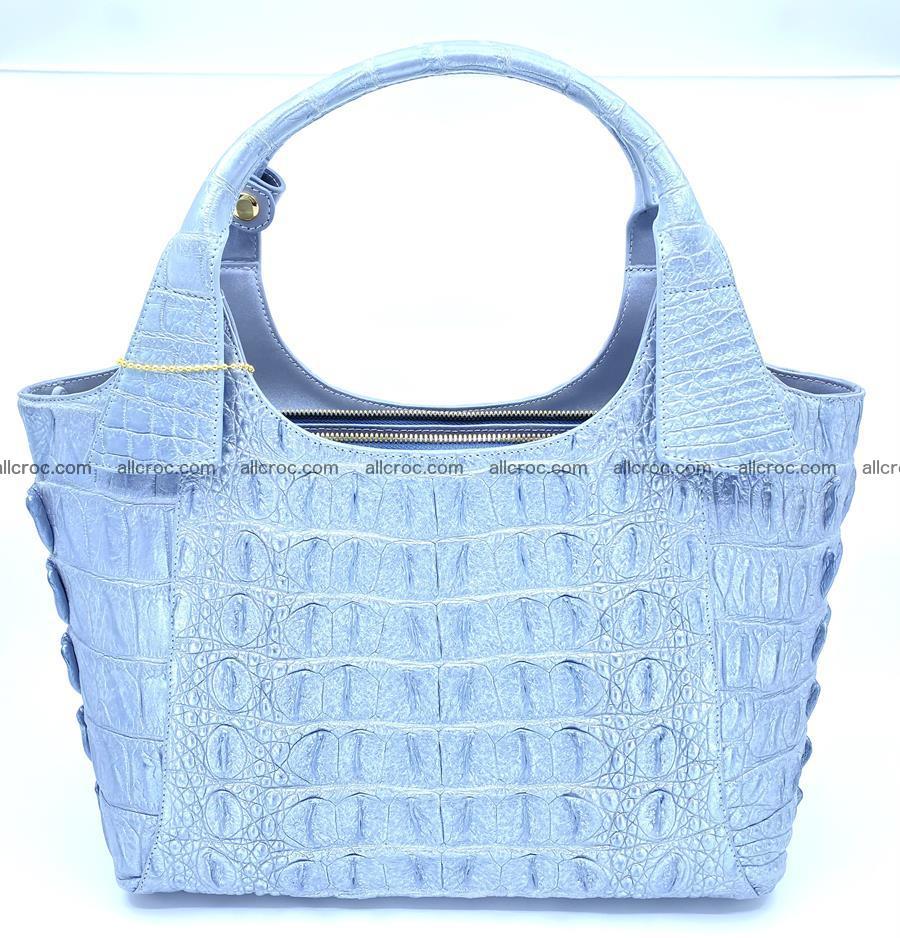 Crocodile skin women's handbag 1446 Foto 1