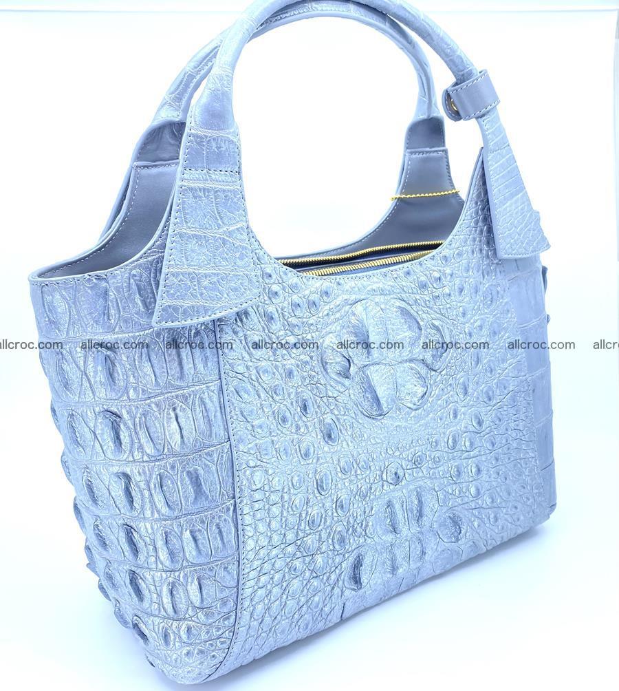 Crocodile skin women's handbag 1446 Foto 2