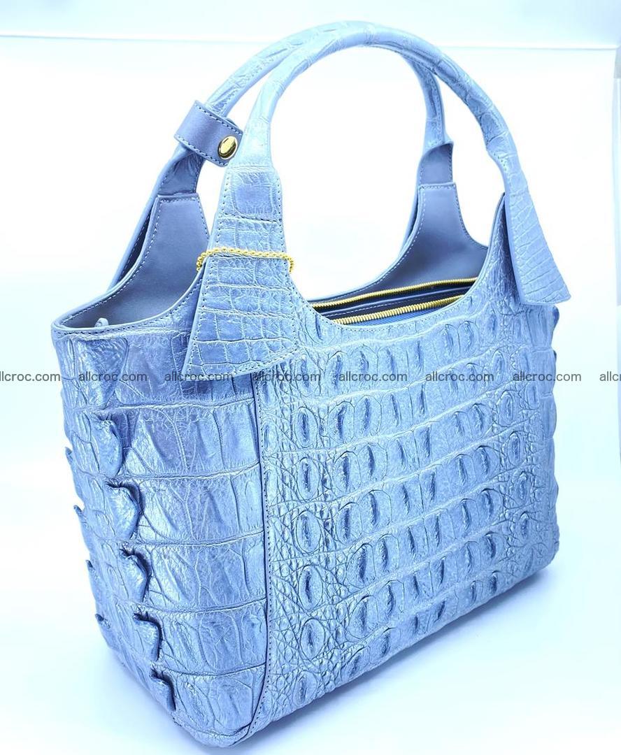 Crocodile skin women's handbag 1446 Foto 4