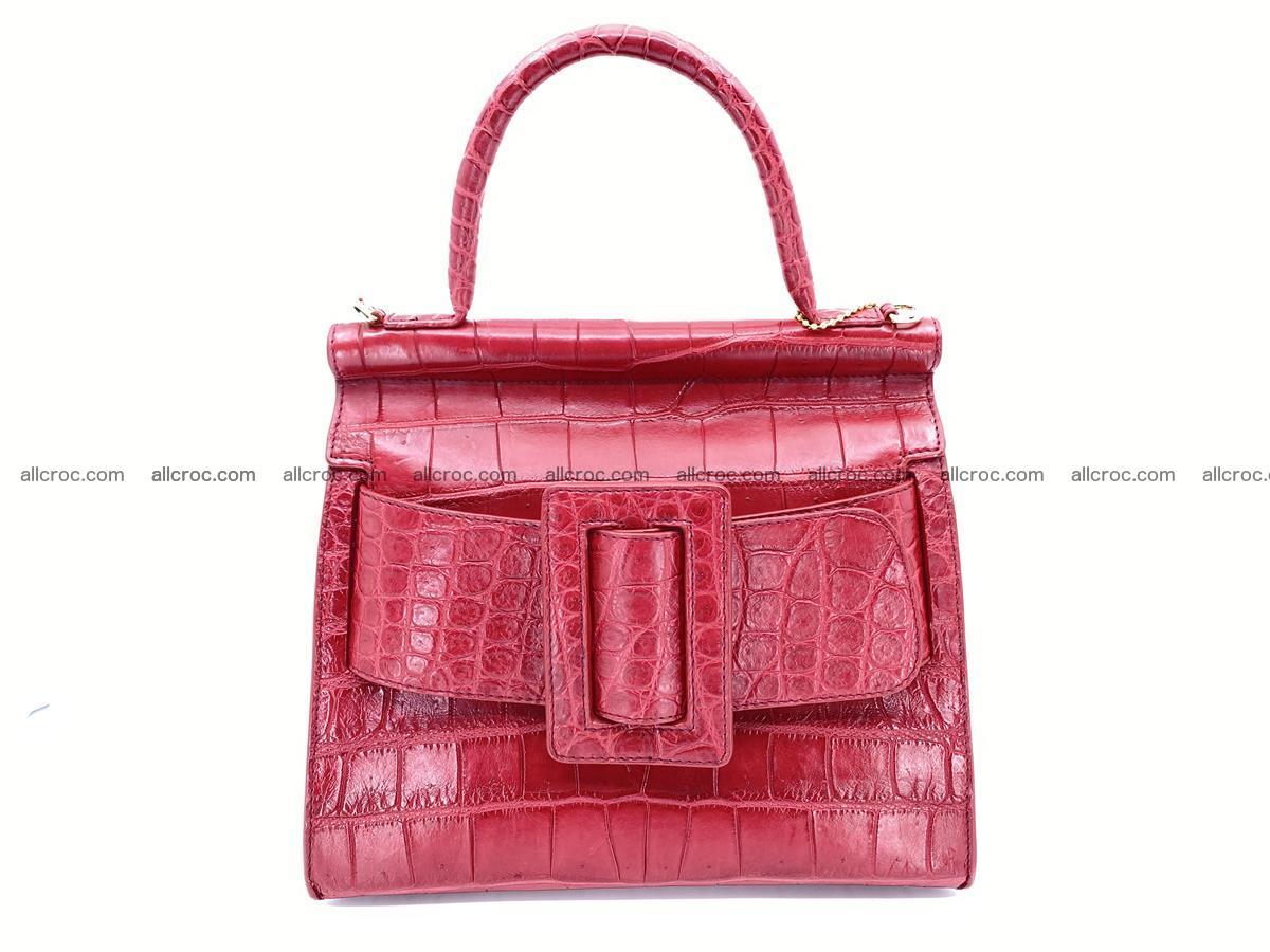 Crocodile skin women's handbag 1450 Foto 0