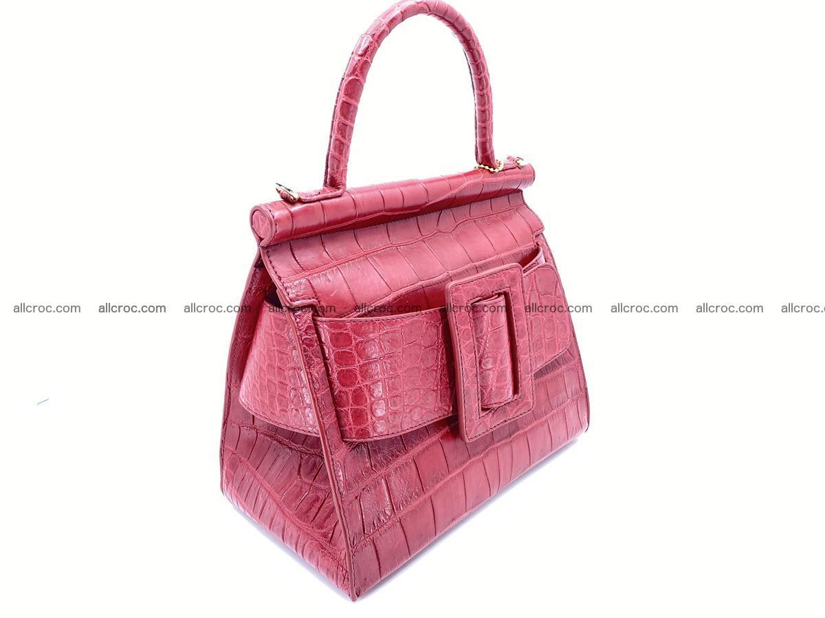Crocodile skin women's handbag 1450 Foto 1