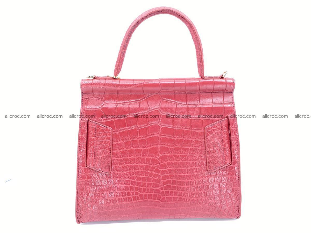 Crocodile skin women's handbag 1450 Foto 3