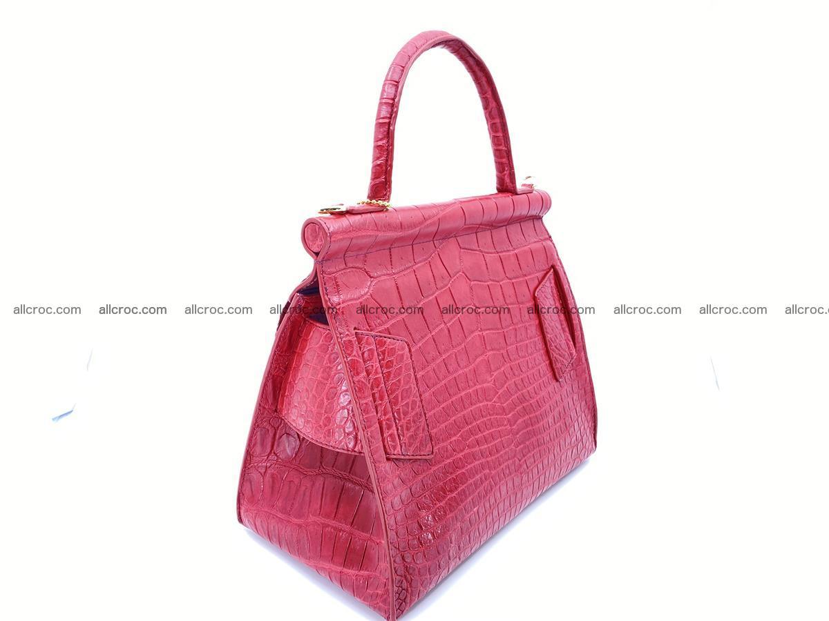Crocodile skin women's handbag 1450 Foto 4