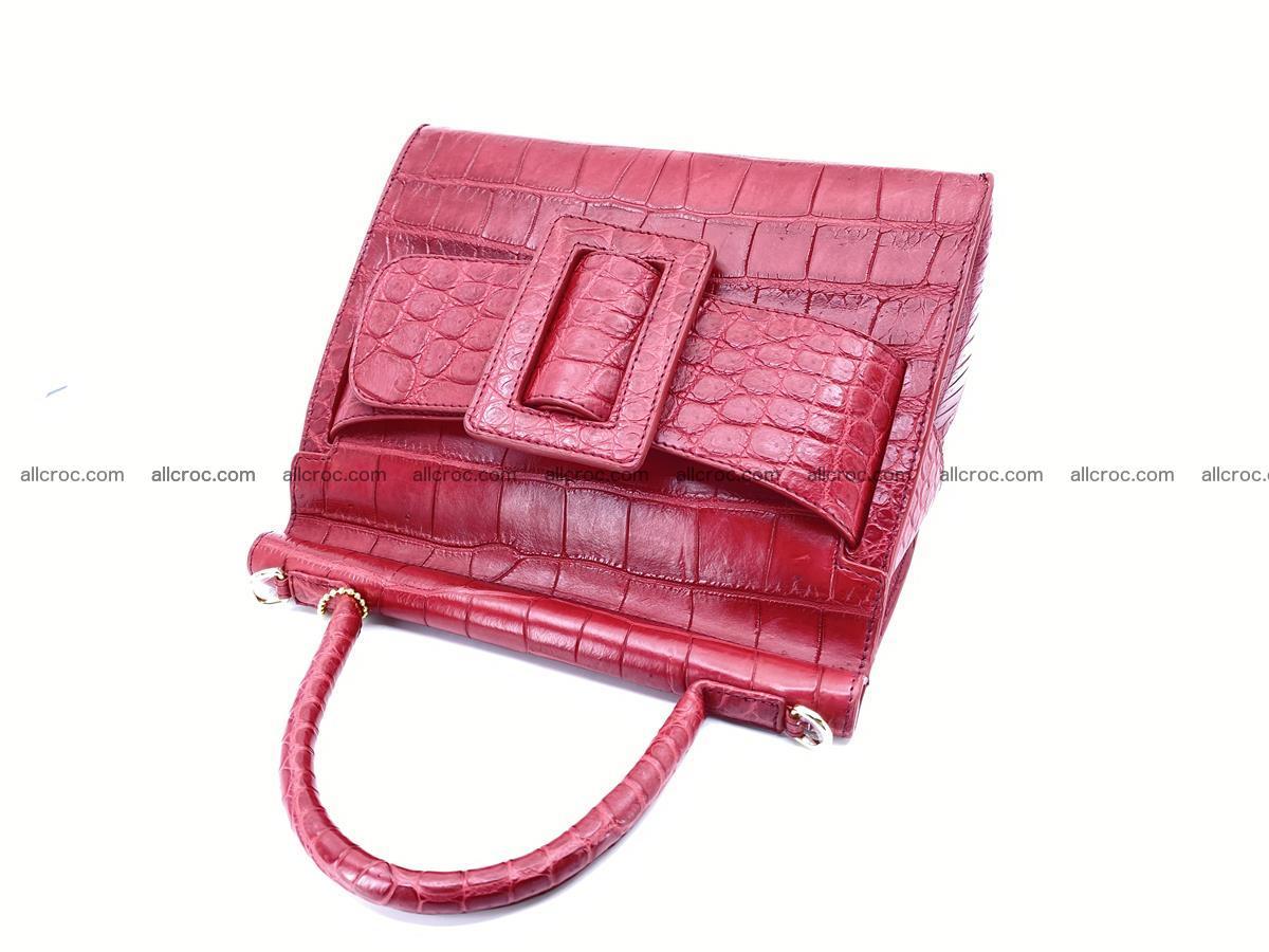 Crocodile skin women's handbag 1450 Foto 8