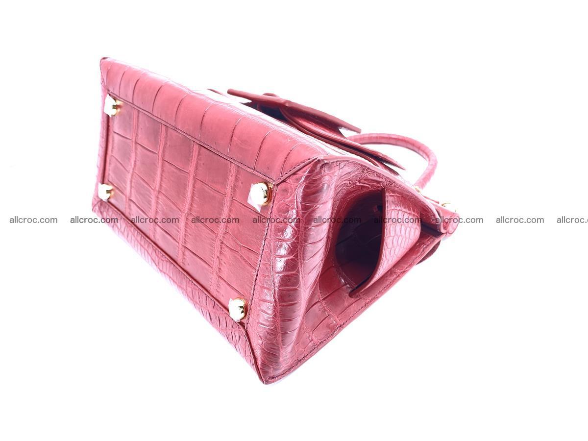 Crocodile skin women's handbag 1450 Foto 10