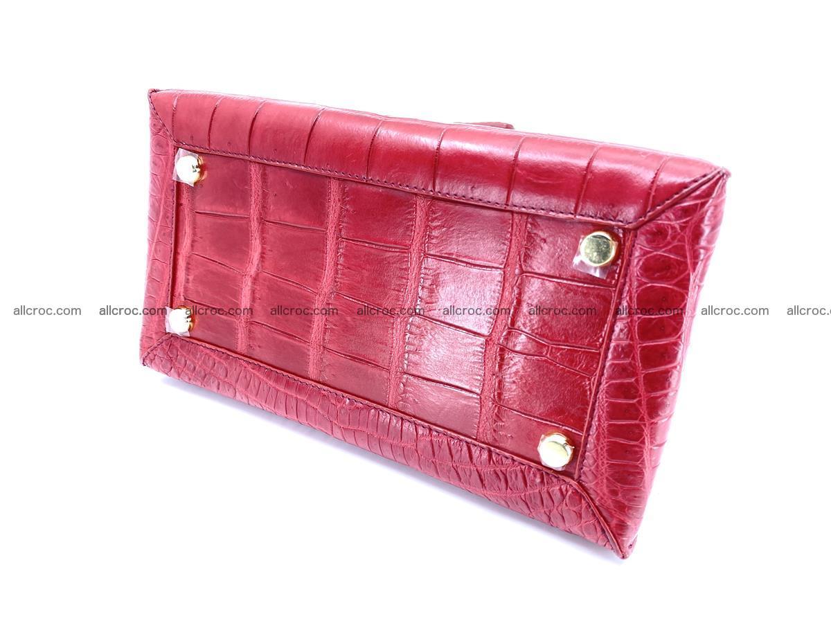 Crocodile skin women's handbag 1450 Foto 11