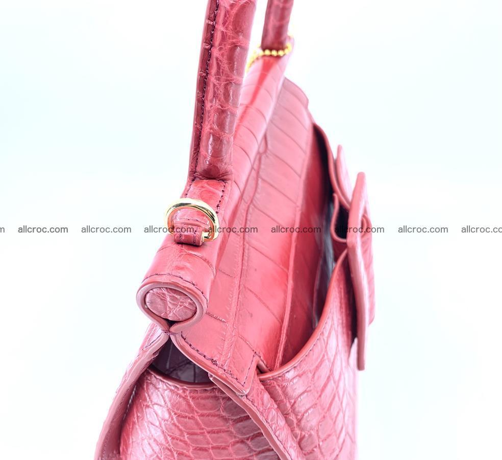 Crocodile skin women's handbag 1450 Foto 12