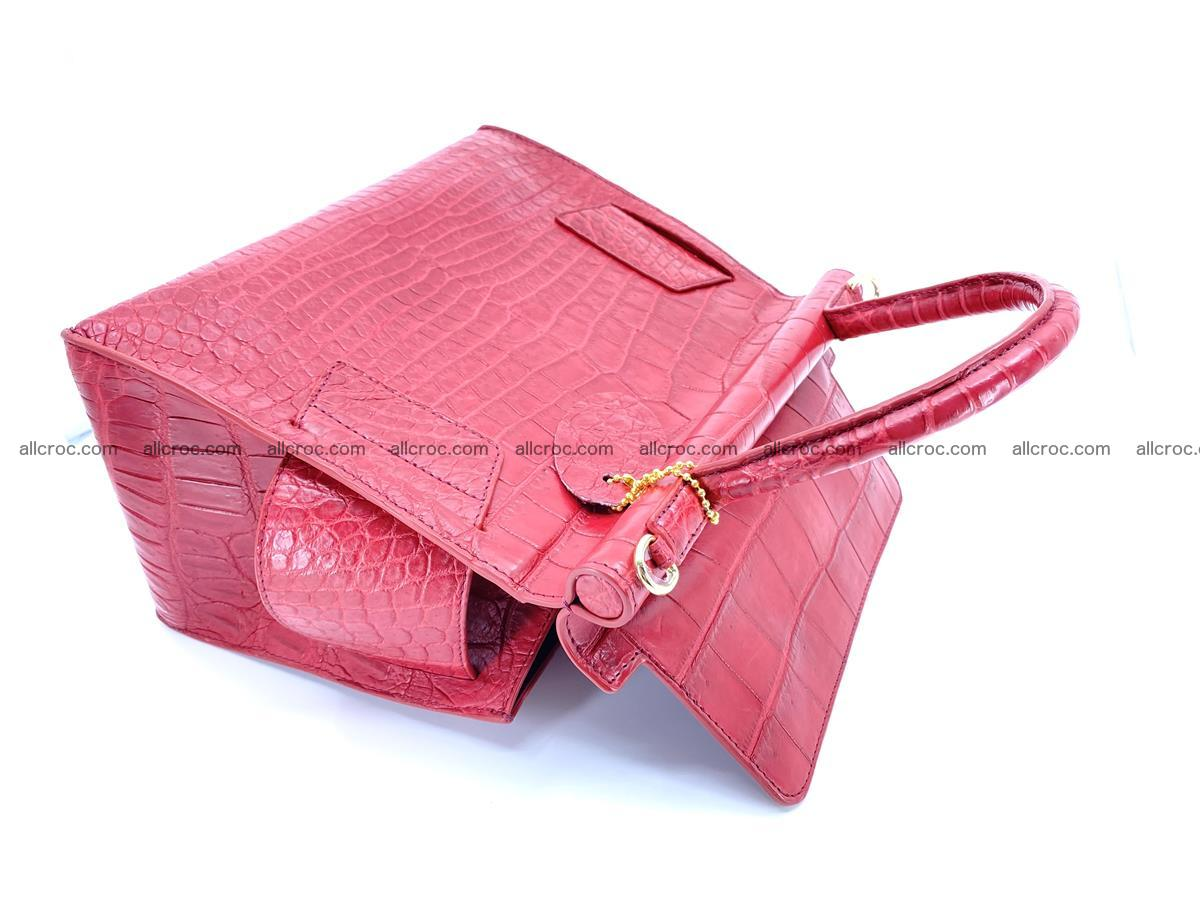 Crocodile skin women's handbag 1450 Foto 13