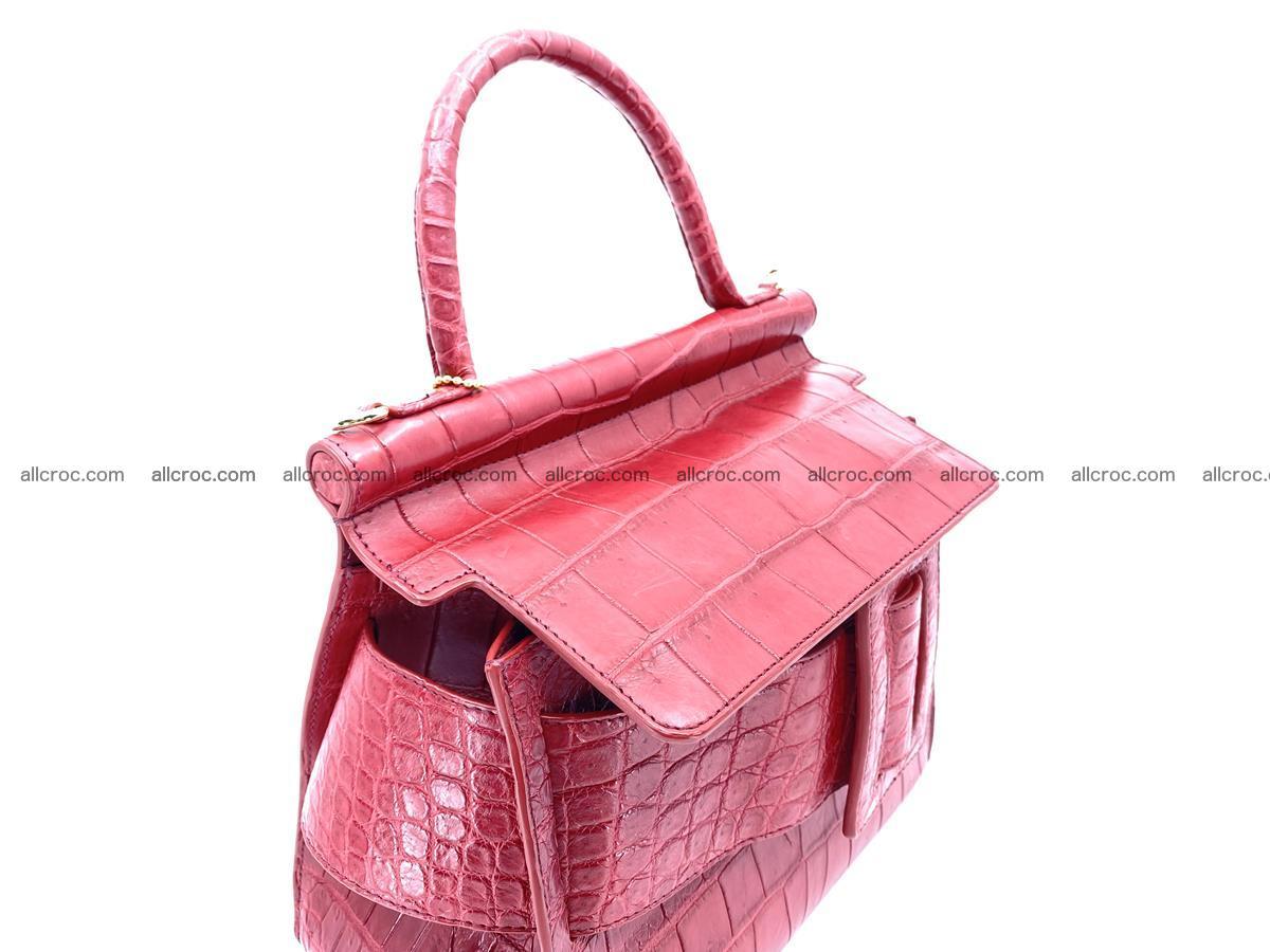 Crocodile skin women's handbag 1450 Foto 14