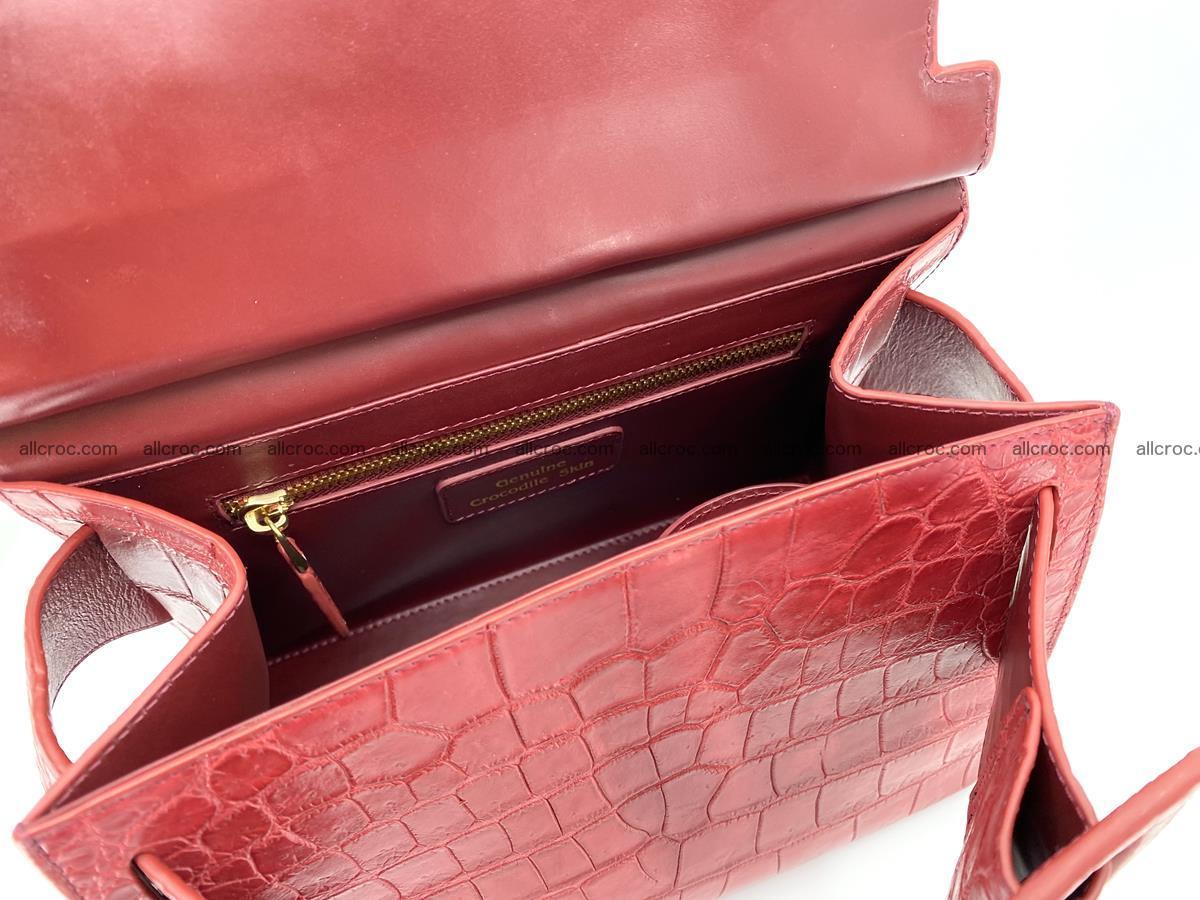Crocodile skin women's handbag 1450 Foto 16