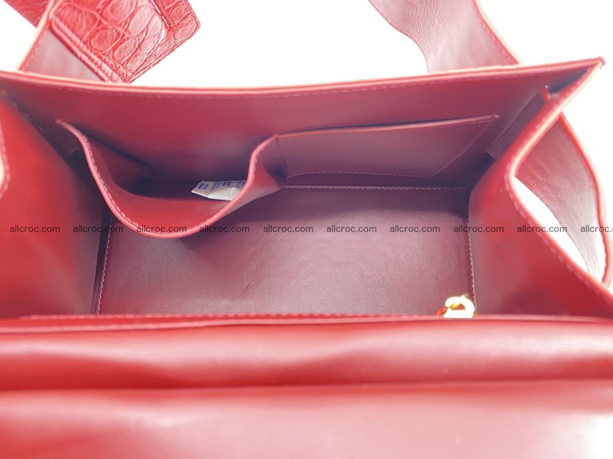 Crocodile skin women's handbag 1450 Foto 18