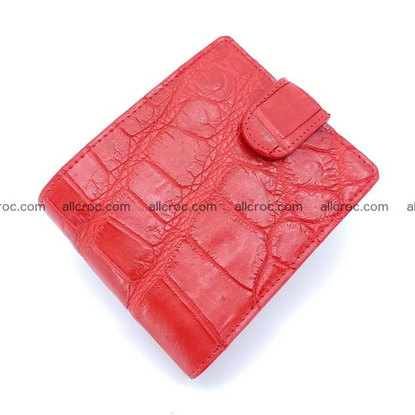 Handcrafted crocodile skin wallet 1183