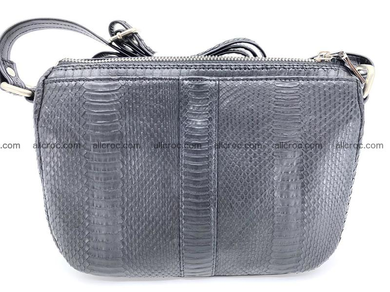 Python snake shoulder bag 914