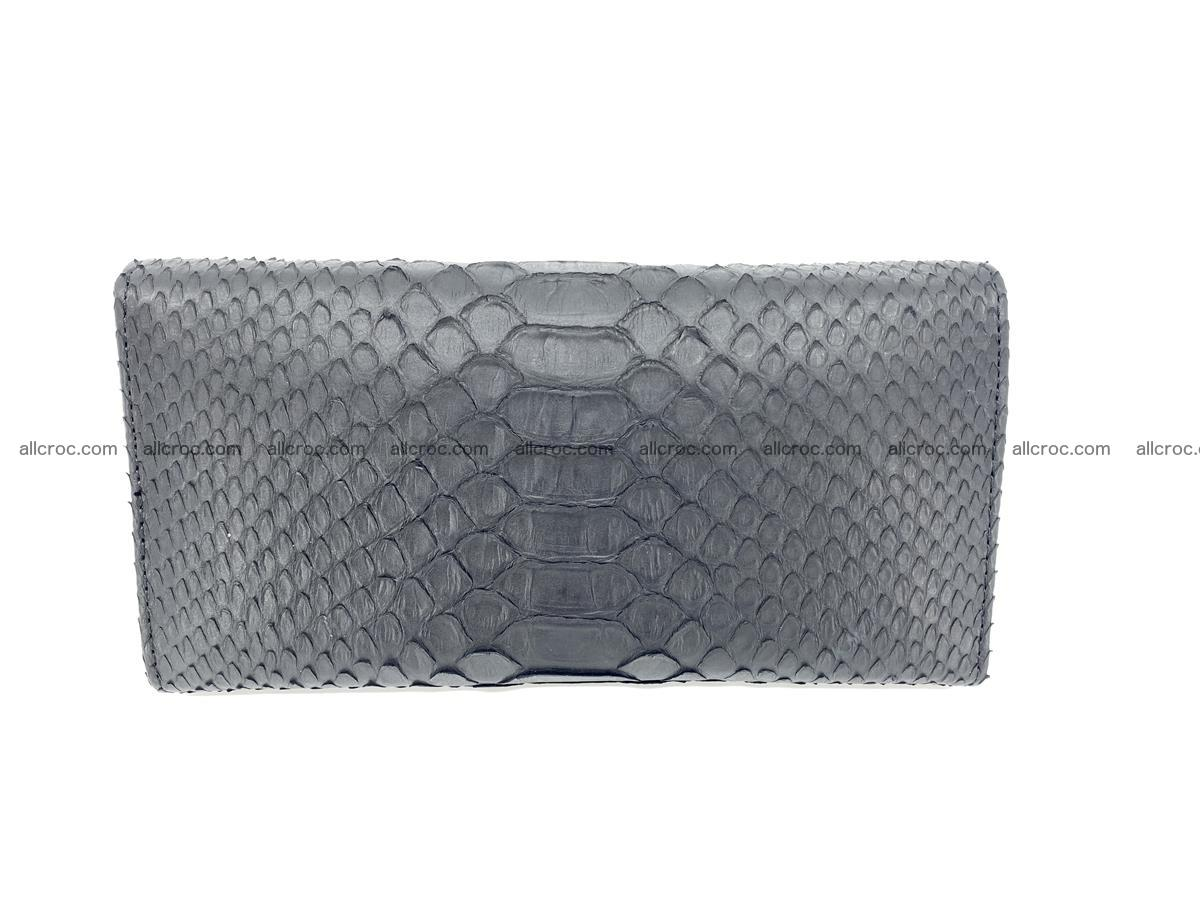 Python snakeskin long wallet 931 Foto 1