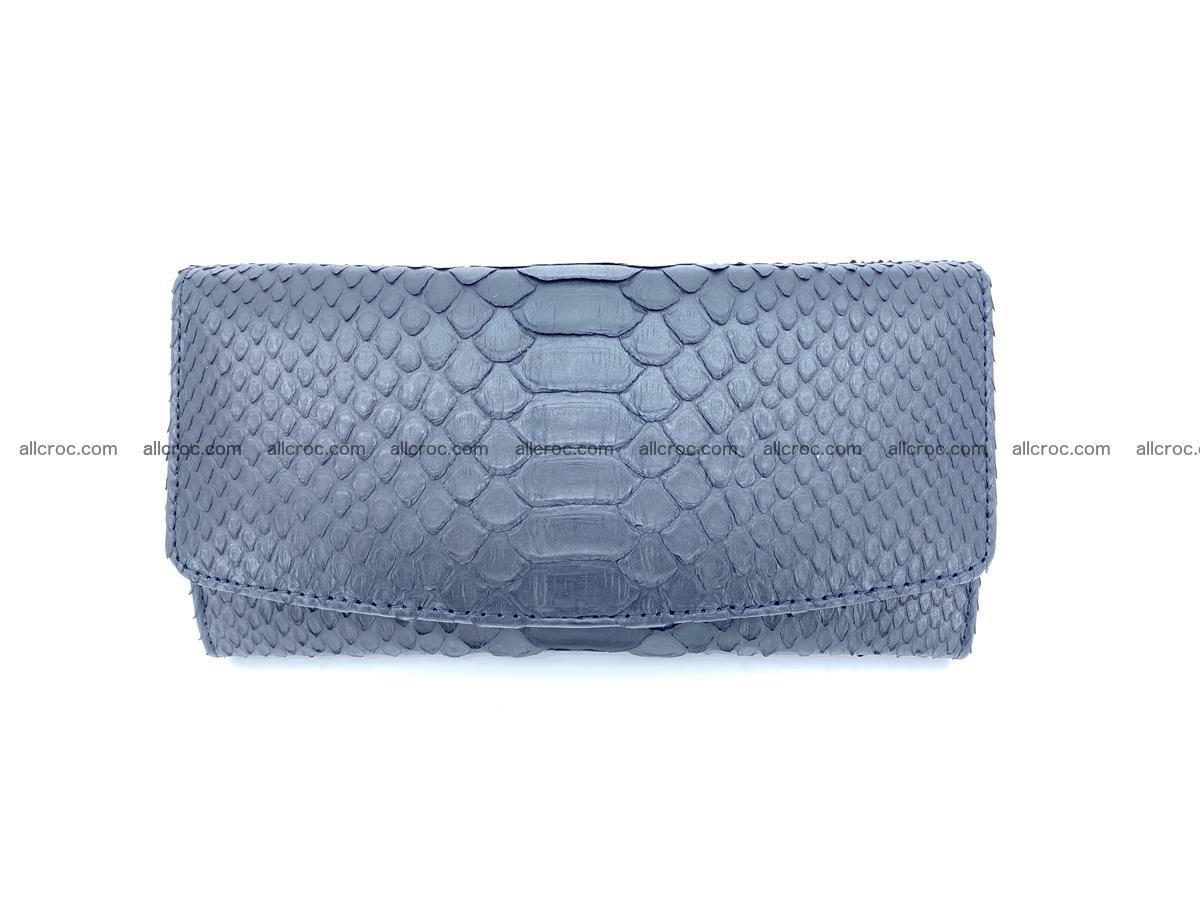 Python snakeskin long wallet 931 Foto 0