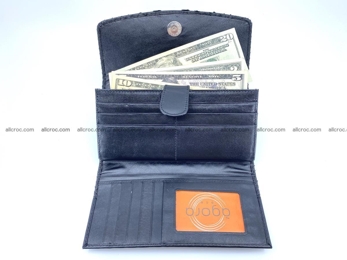 Python snakeskin long wallet 931 Foto 4