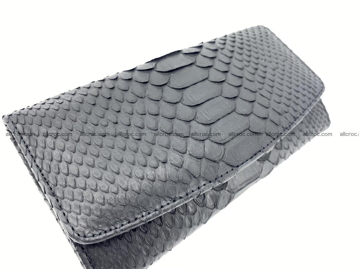 Python snakeskin long wallet 931 Foto 2