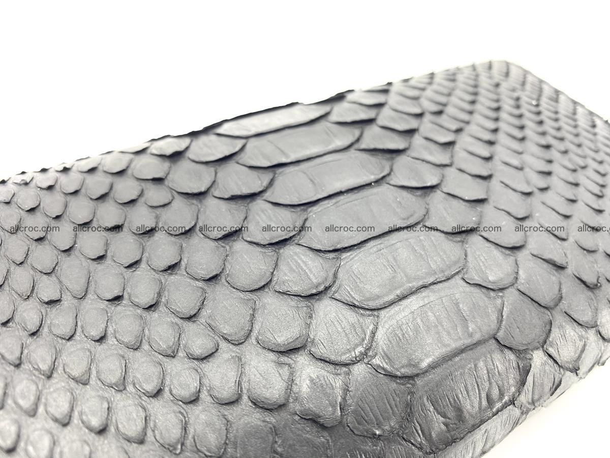 Python snakeskin long wallet 931 Foto 3