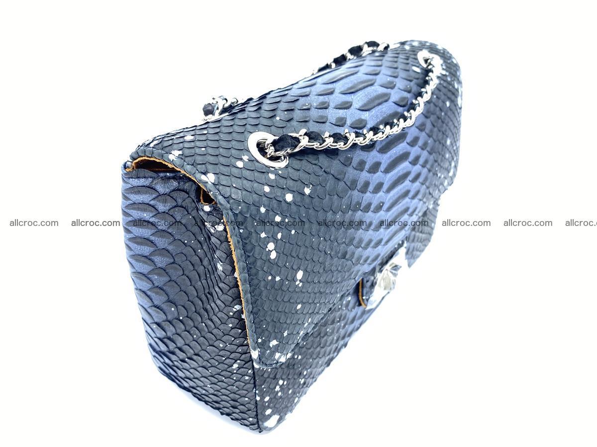 Python snakeskin shoulder bag 1076 Foto 3