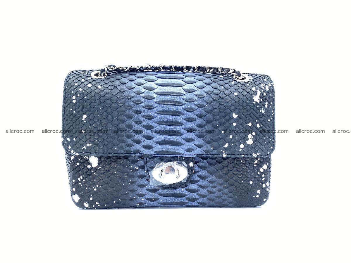 Python snakeskin shoulder bag 1076 Foto 0