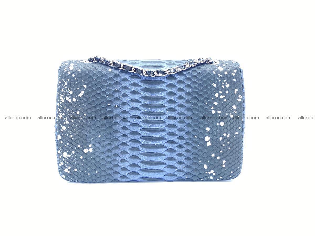 Python snakeskin shoulder bag 1076 Foto 1