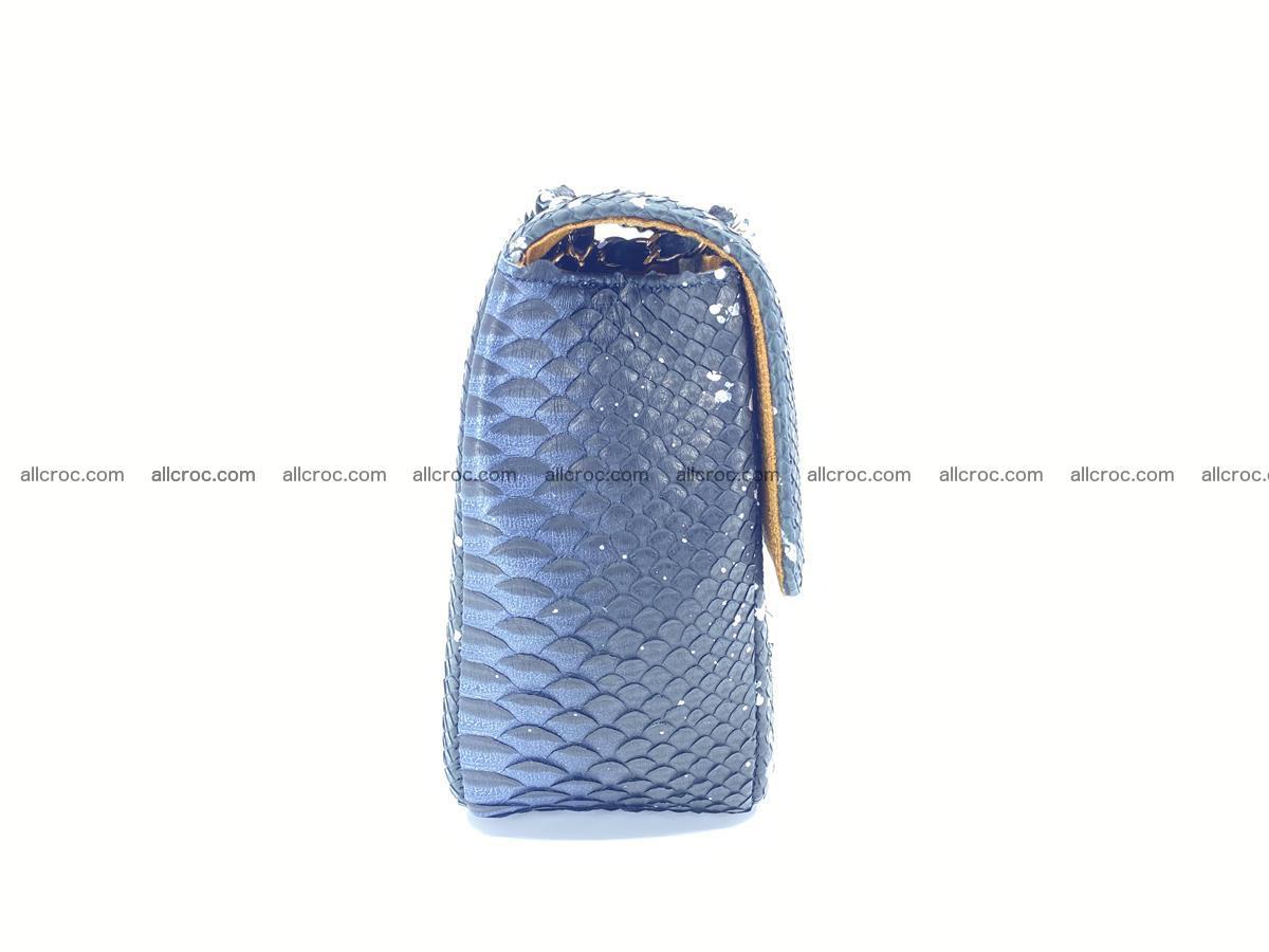 Python snakeskin shoulder bag 1076 Foto 9