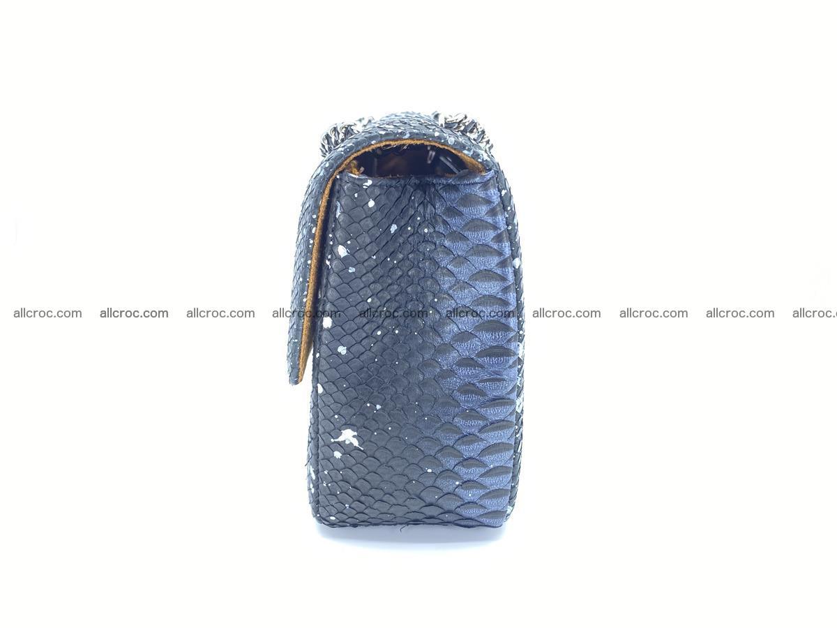 Python snakeskin shoulder bag 1076 Foto 10