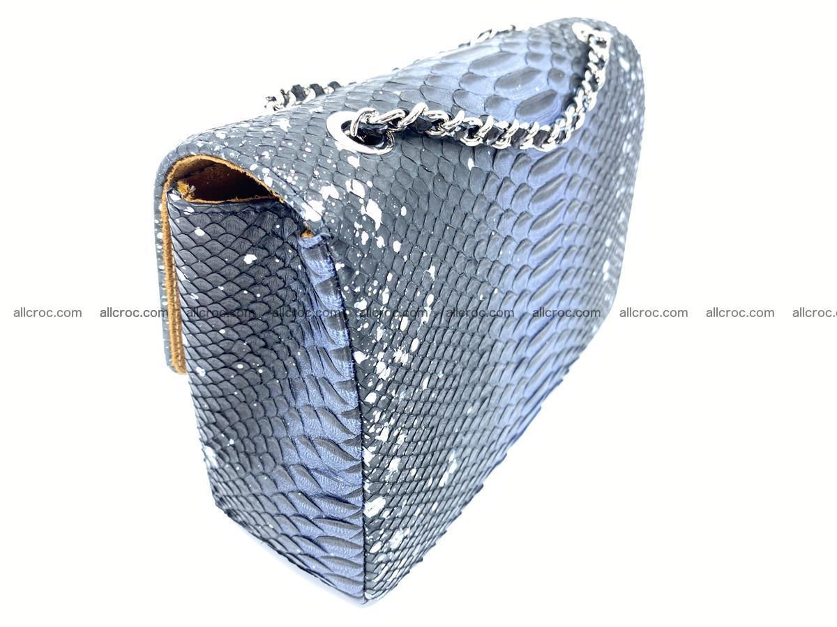 Python snakeskin shoulder bag 1076 Foto 5