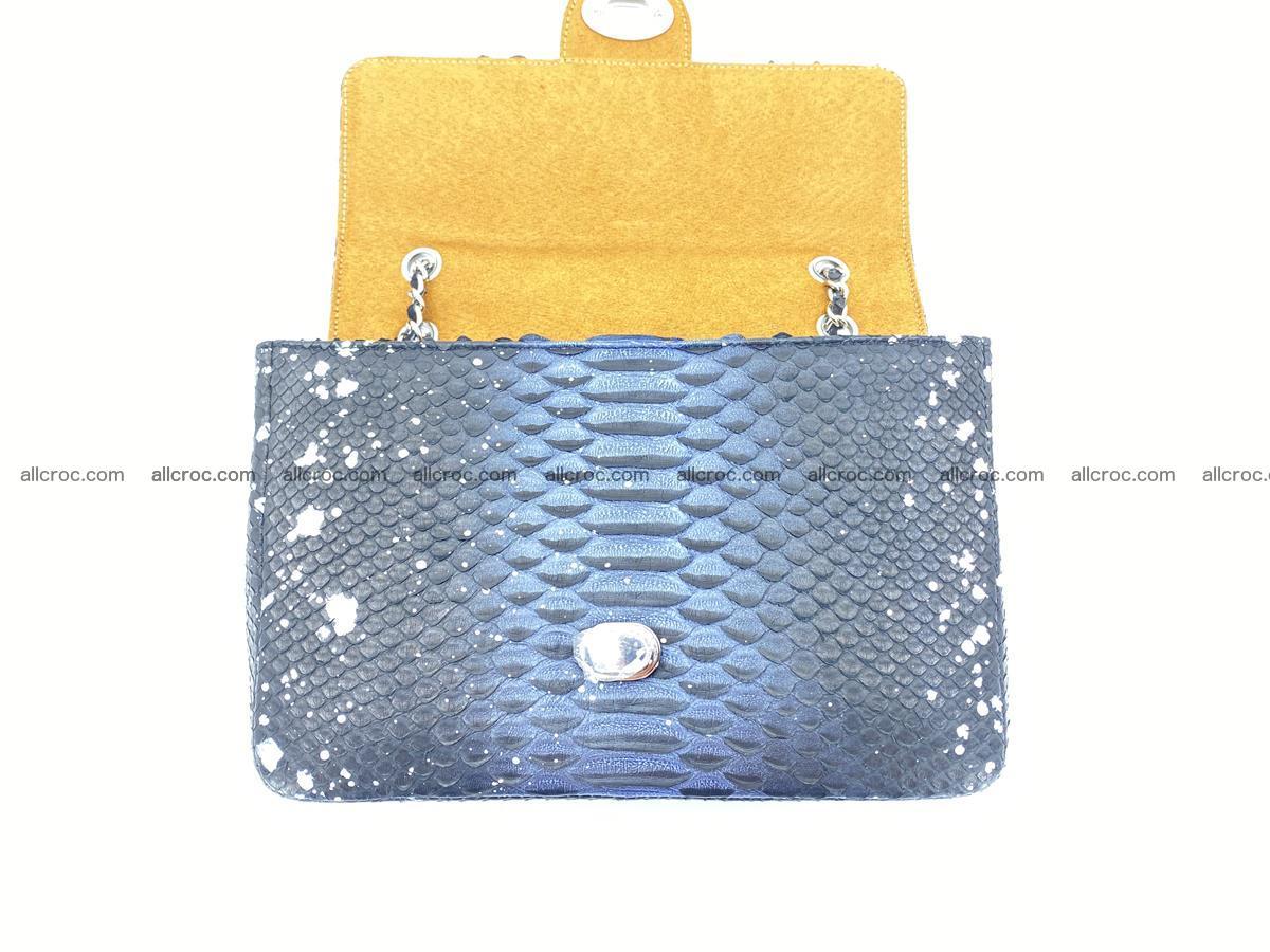 Python snakeskin shoulder bag 1076 Foto 13